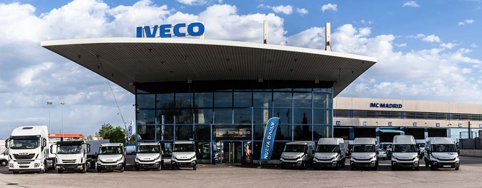 Taller de MC IVECO en Madrid