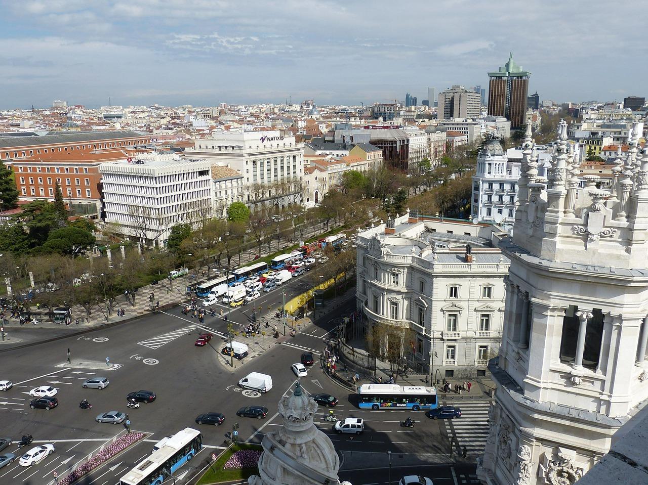 Madrid restringe el tráfico a vehículos contaminantes