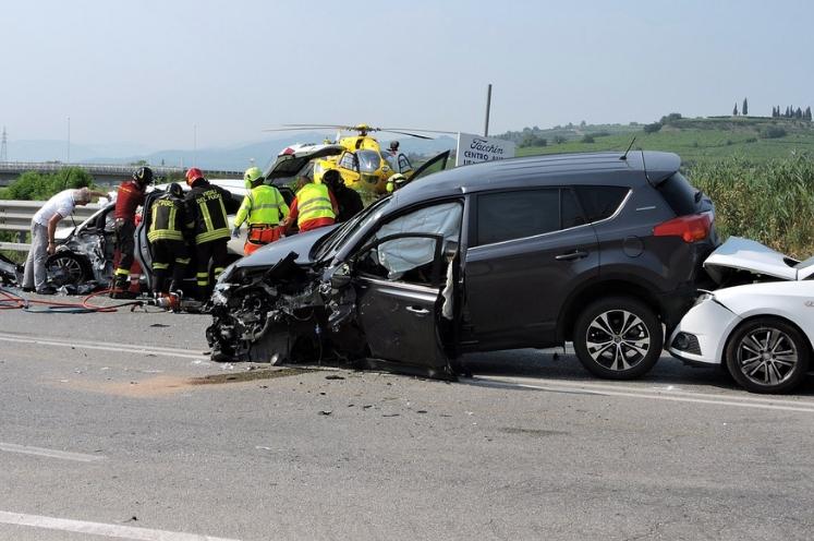 Accidentes de tráfico en España en 2018