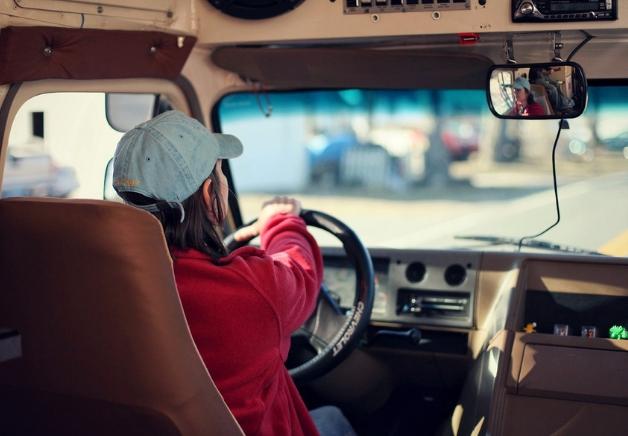 Mujeres en el sector del transporte