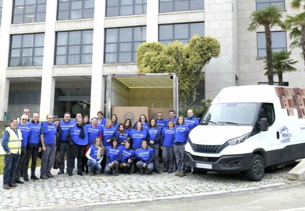 La Nueva IVECO Daily recolecta 6.000 kilos de alimentos para el Banco de Alimentos