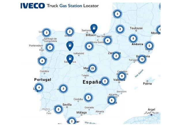 Gasolineras donde repostar gas en España