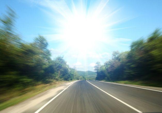 Cómo conducir en verano