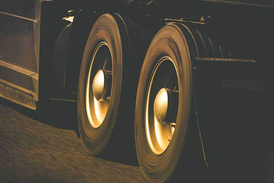Envejecimiento neumáticos camión