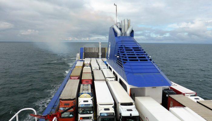 Modo ferry del tacógrafo digital